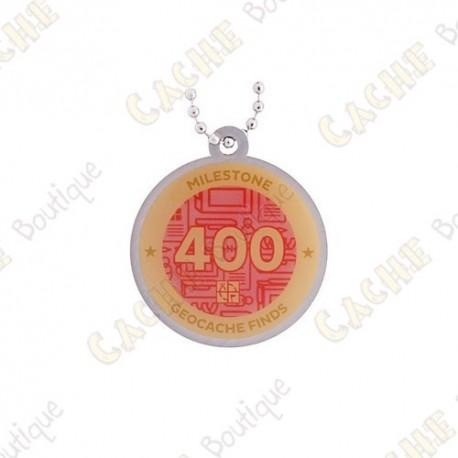 "Traveler ""Milestone"" - 400 Finds"