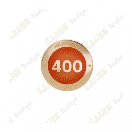 """Pin's """"Milestone"""" - 400 Finds"""