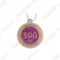 "Traveler ""Milestone"" - 500 Finds"