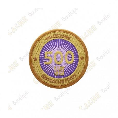 """Parche  """"Milestone"""" - 500 Finds"""
