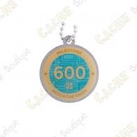 "Traveler ""Milestone"" - 600 Finds"