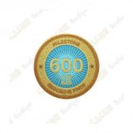 """Parche  """"Milestone"""" - 600 Finds"""