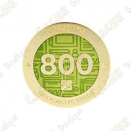 "Geocoin ""Milestone"" - 800 Finds"