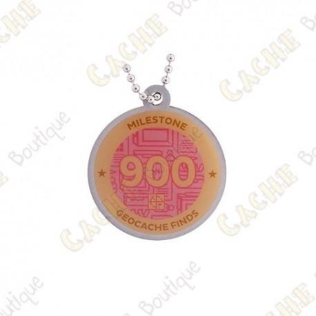 "Traveler ""Milestone"" - 900 Finds"