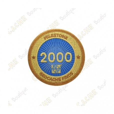 """Parche  """"Milestone"""" - 2000 Finds"""