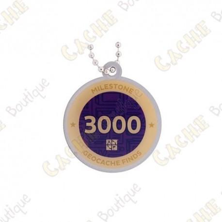 "Traveler ""Milestone"" - 3000 Finds"
