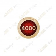 "Pin's ""Milestone"" - 4000 Finds"