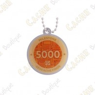 "Traveler ""Milestone"" - 5000 Finds"