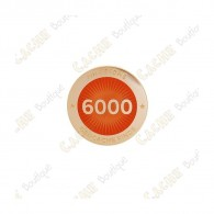 "Pin's ""Milestone"" - 6000 Finds"