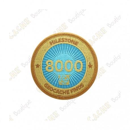 """Parche  """"Milestone"""" - 8000 Finds"""