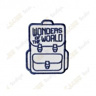 "Patch ""Wonders of the World"""