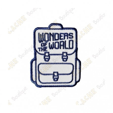 """Patch """"Wonders of the World"""""""
