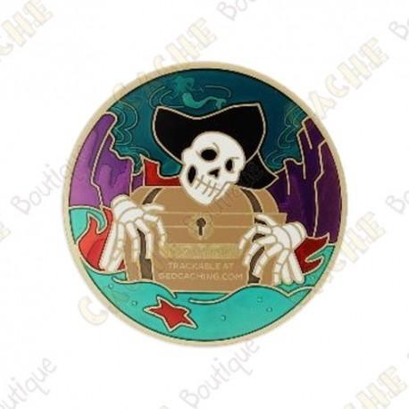"Geocoin ""Pirate 2020"" - Siren song"