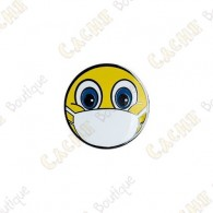 """Micro Coin """"Emoji with Mask"""""""
