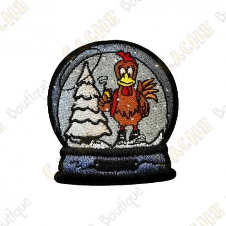 "Parche ""Christmas globe"""