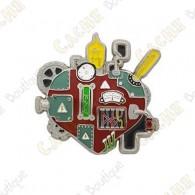 """Géocoin """"Mechanical Heart"""""""