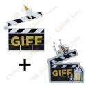 """Géocoin """"GIFF"""" 2021 + Traveler"""