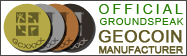 Official Groundspeak Coin Manufacturer