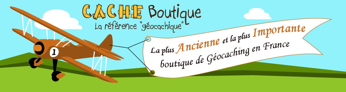 Cache Boutique Numéro 1 en Geocaching en France